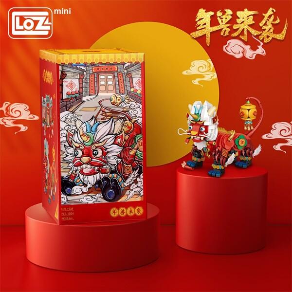 LOZ 1931 Chinese Year Beast