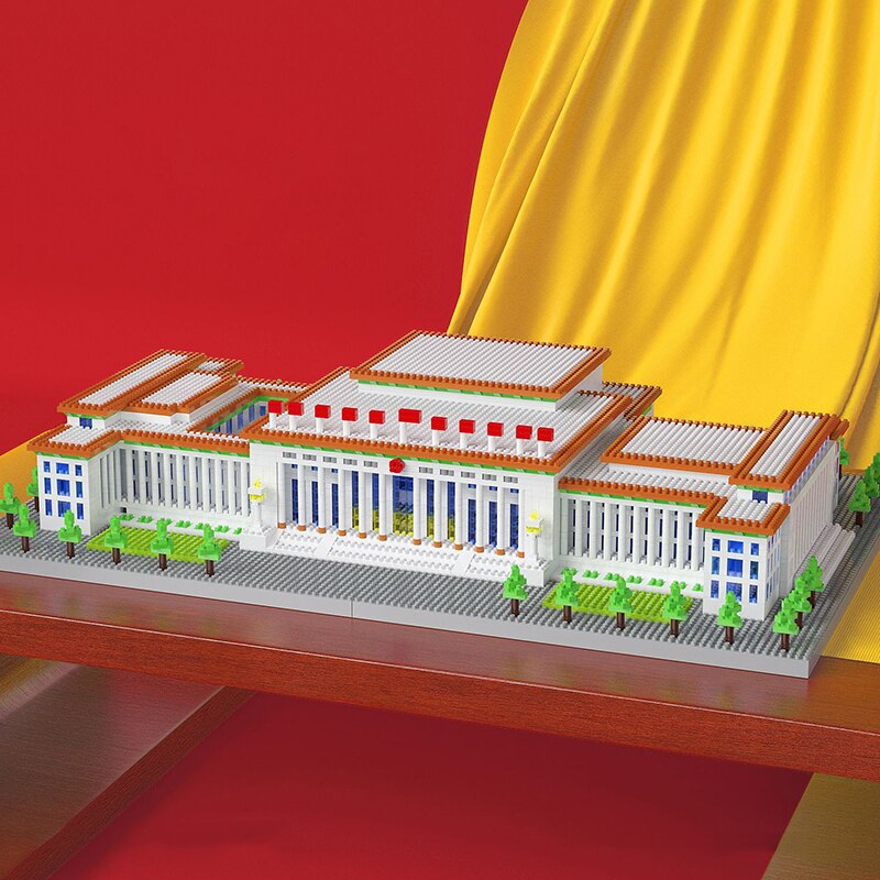 Lezi 8186 Great Hall Of The People