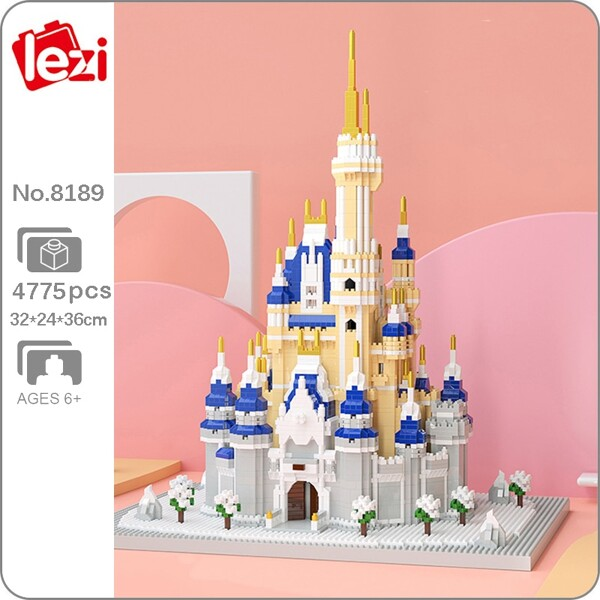 Lezi 8189 Snow Castle