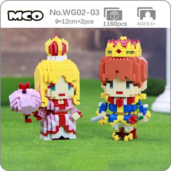 MCO WG 02-03 Fairy Tale Beautiful Princess and Prince Sweetheart