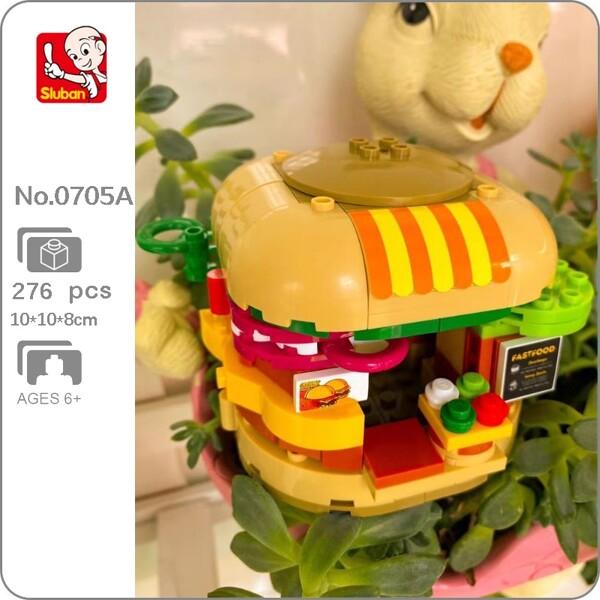 Sluban B0705A Hamburger and Sandwich Fast Food Restaurant