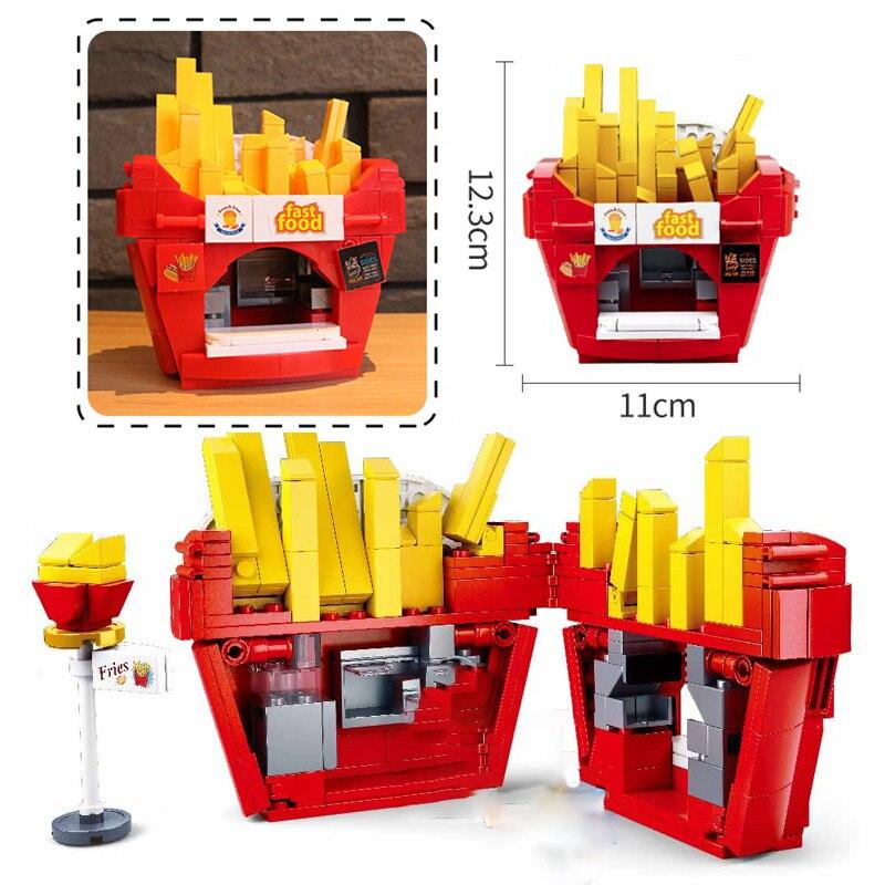 Sluban B0705B French Fries Fast Food Restaurant