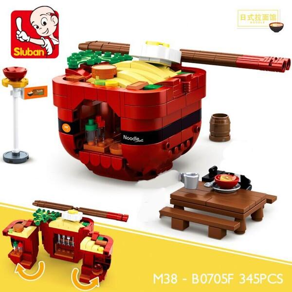 Sluban B0705F Fast Food Court Japanese Ramen Restaurant