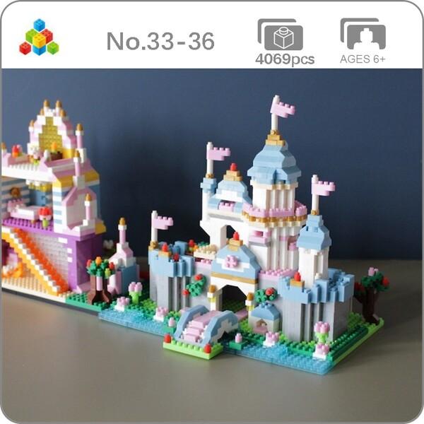 YZ 33-36 Princess Dream Castle