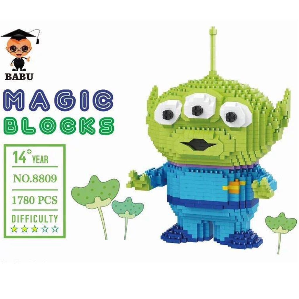 Babu 8809 Little Green Men Jumbo