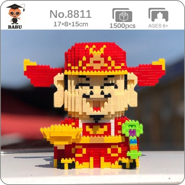 Babu 8811 God of Fortune Gold Coins