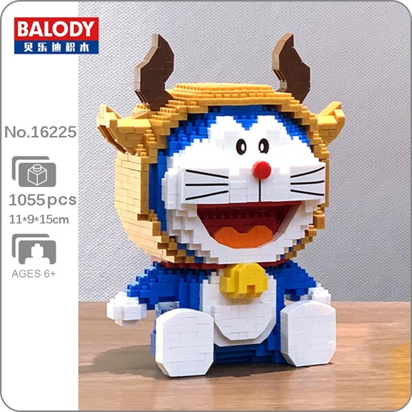 Balody 16225 Doraemon Zodiac Taurus