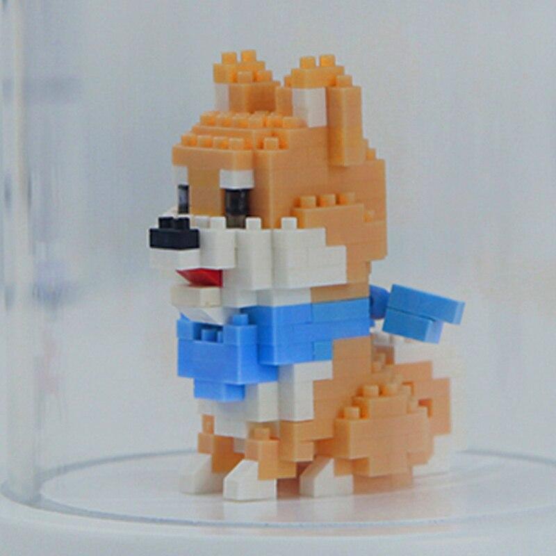 Balody 18248-2 Shiba Breed Dog with Scarf