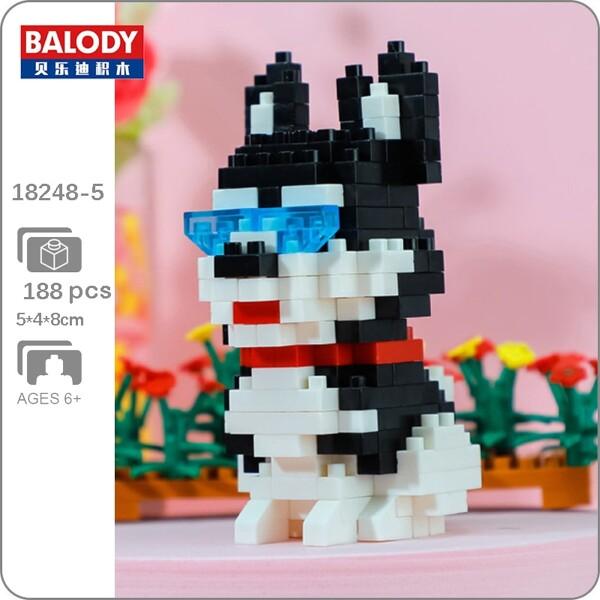 Balody 18248-5 Siberian Husky Dog Sitting