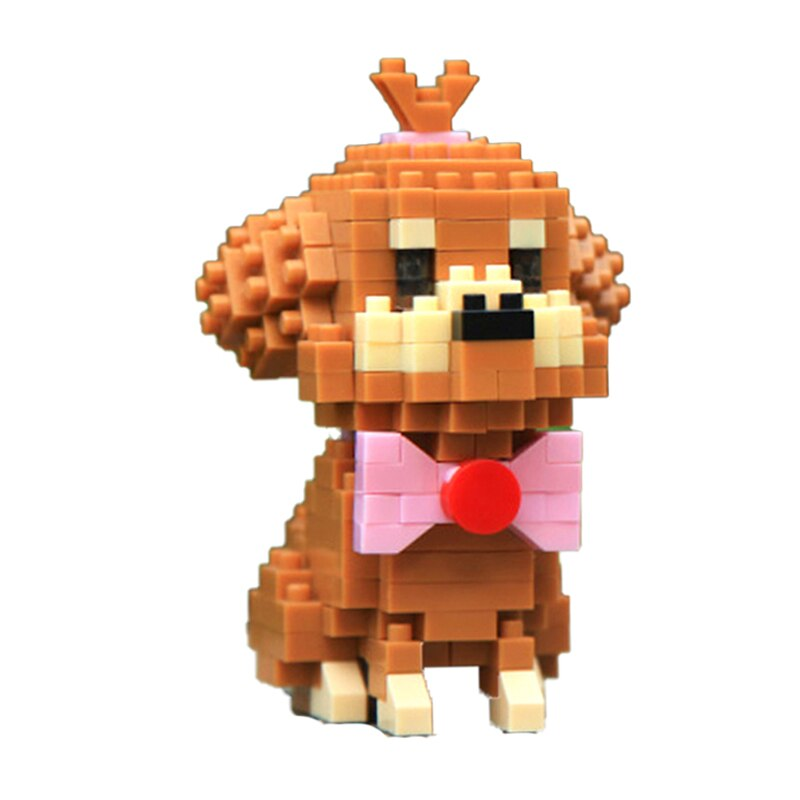 Balody 18248-8 Poodle Teddy Dog with Bow