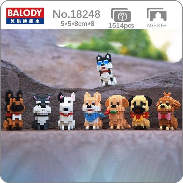 Balody 18248 8 Types of Dog