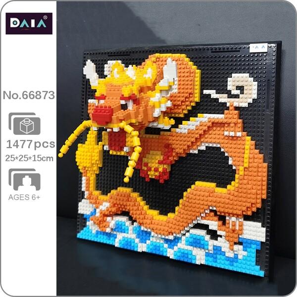 DAIA 66873 Loong Dragon Wall Painting