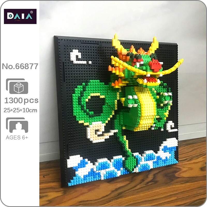 DAIA 66877 Loong Dragon Wall Painting