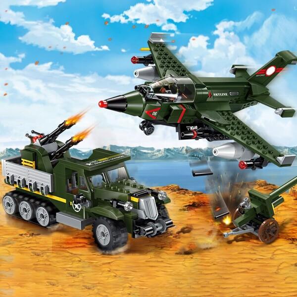 Enlighten 1710 Military Heavy Truck and Plane