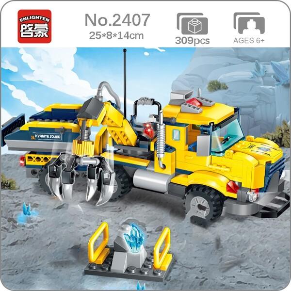 Enlighten 2407 Spar Team: Spar Gatherers Crystal Collect Vehicle
