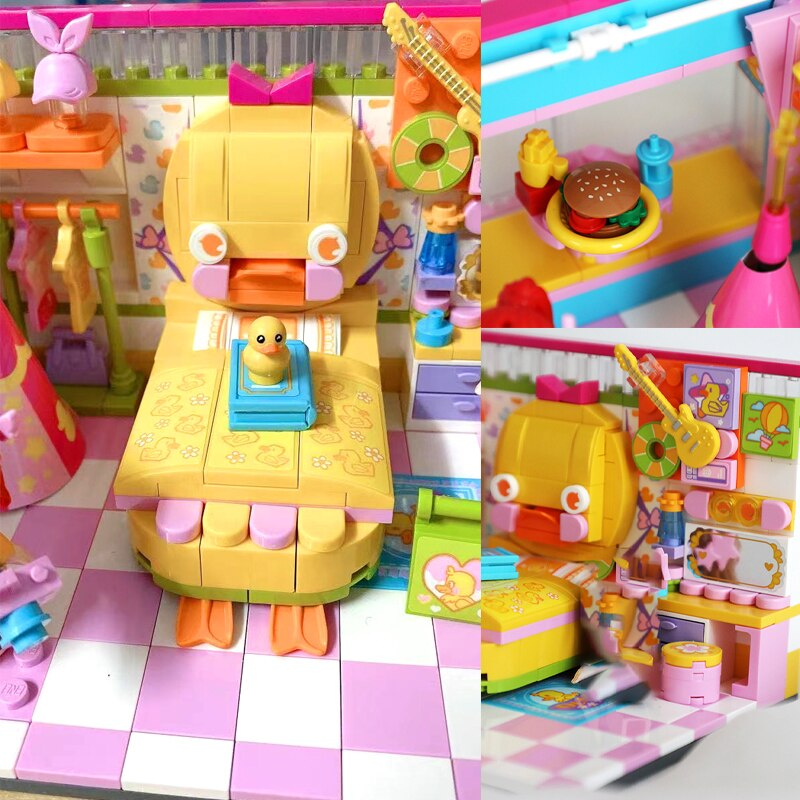 Enlighten 31013 Cute Duckling Girl Bedroom