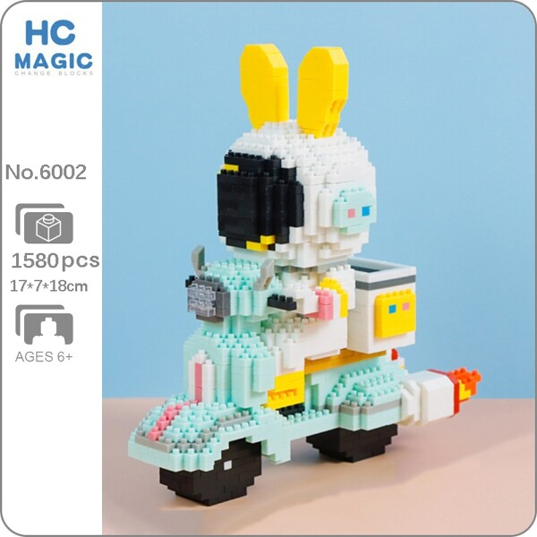 HC Magic 6002 Rabbit Astronaut Express Motorcycle