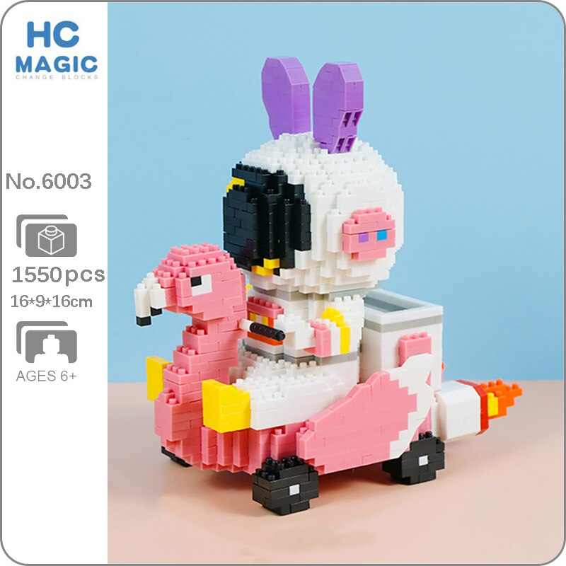 HC Magic 6003 Rabbit Astronaut Swan Swing Car