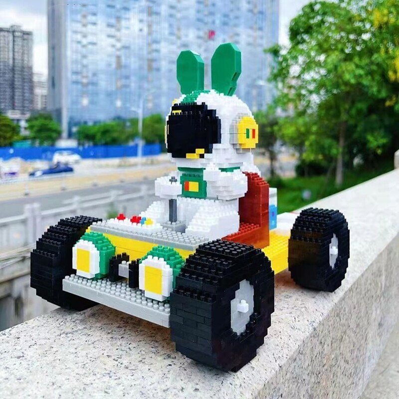 HC Magic 6005 Rabbit Astronaut Go-Kart Racing Car
