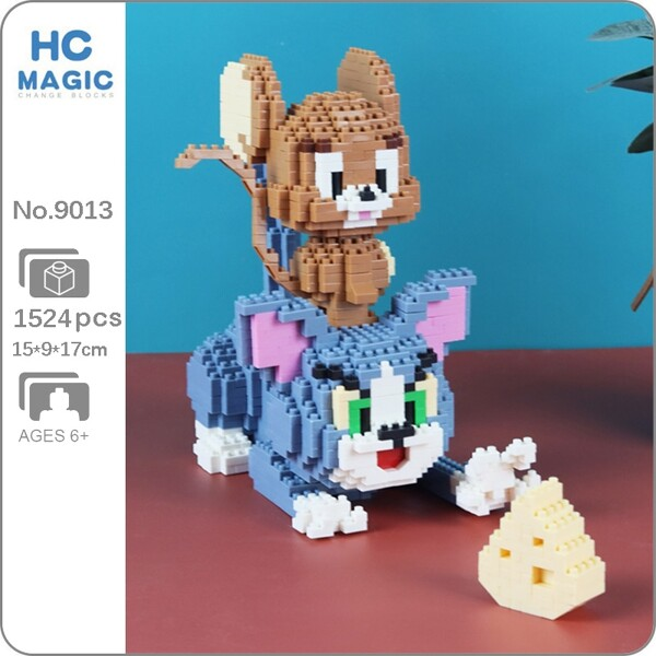 HC Magic 9013 Cat and Mouse with Cheese