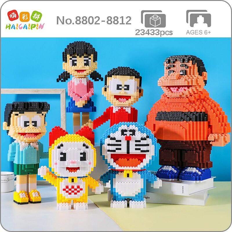 HCP 8802-8812 Doraemon Characters