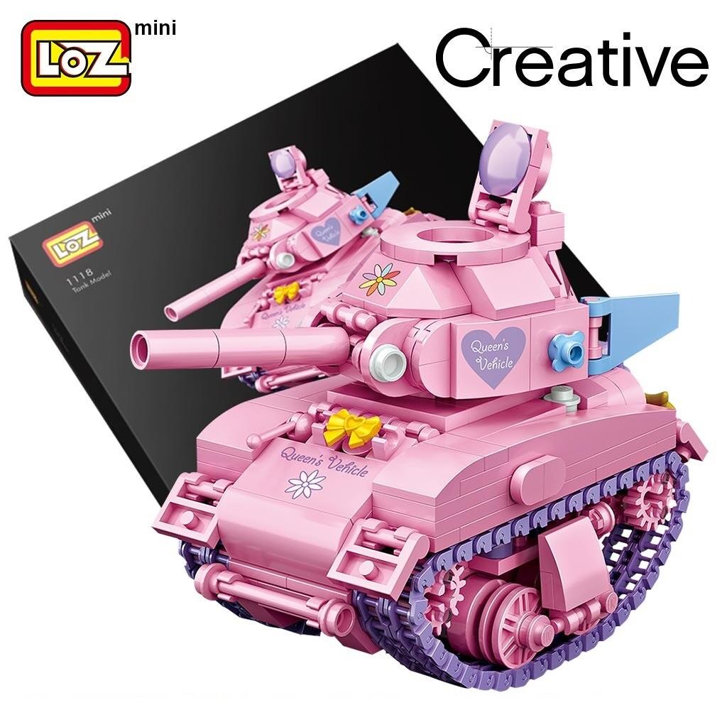 LOZ 1118-4101 Cute Tank