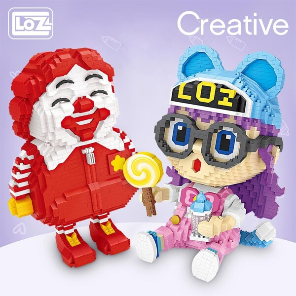 LOZ 9043-9050 Hey Ray and Mcfat