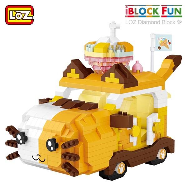 LOZ 9260-9261 Cartoon Animal Car