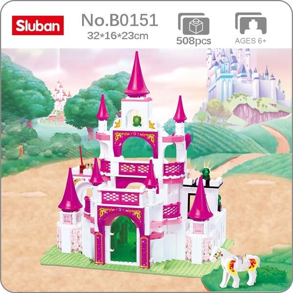 Sluban B0151 Pink Dream Princess Castle