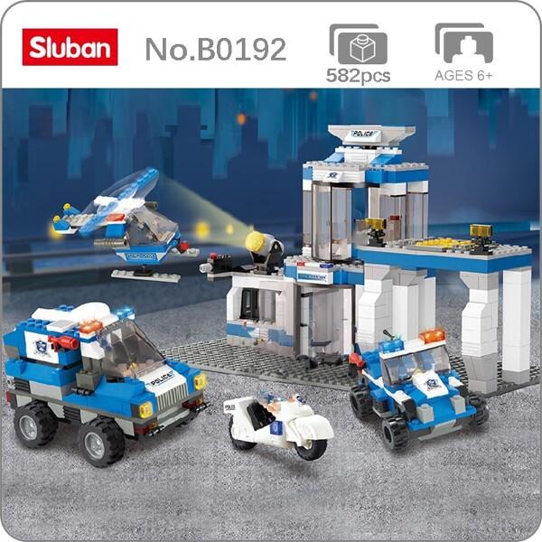 Sluban B0192 Police Station