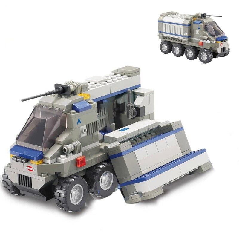 Sluban B0201 Force Transport Truck Transform To Military Automobile Base