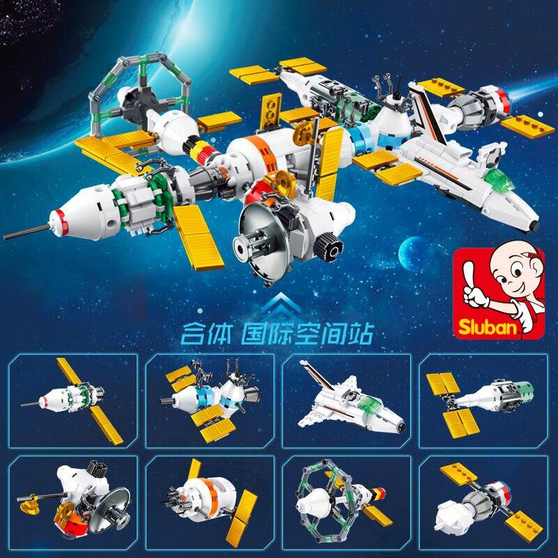 Sluban B0731 Space Adventure Satellite