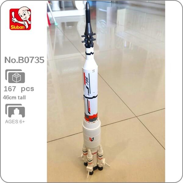 Sluban B0735 Space Adventure Long March Rocket 2 in 1