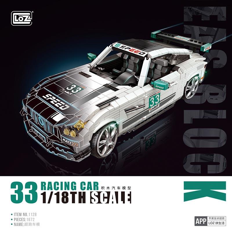 LOZ 1128 Super Running Car