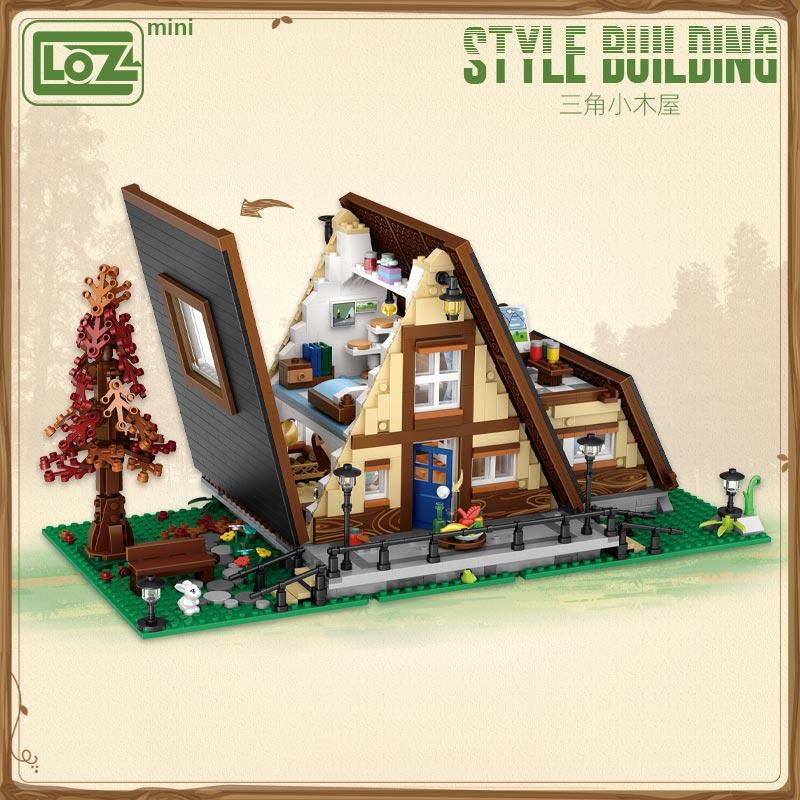 LOZ 1037 Triangle Cabin