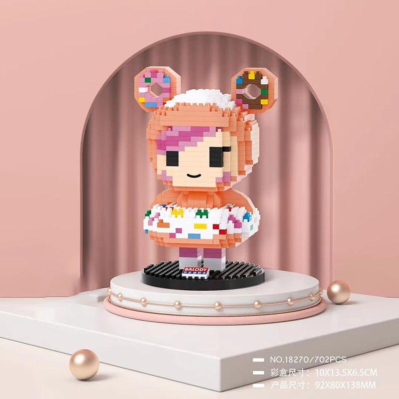 Balody 18270 Sweet Doughnut Dessert Girl