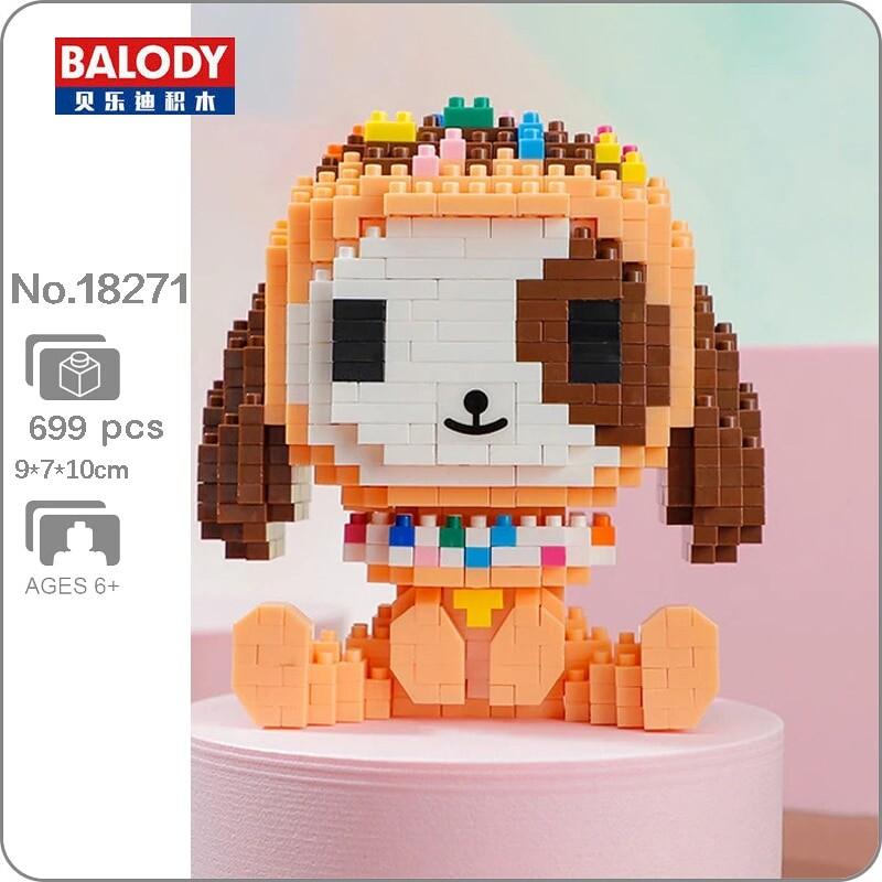 Balody 18271 Sweet Doughnut Little Dog