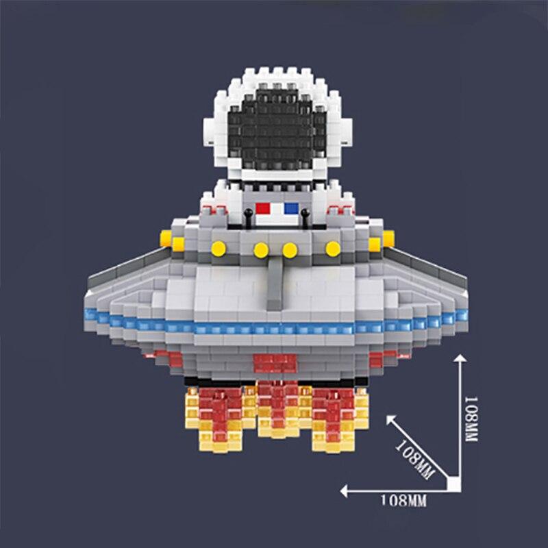 Balody 18359 Spaceman Flying UFO