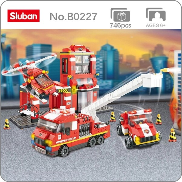 Sluban B0227 Fire Station
