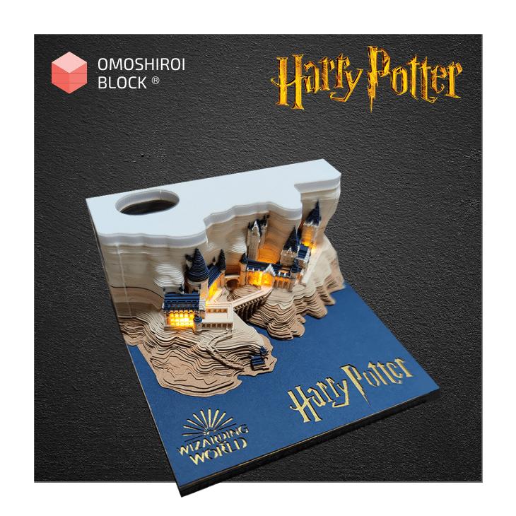 Omoshiroi Block Harry potter Hogswart Castle