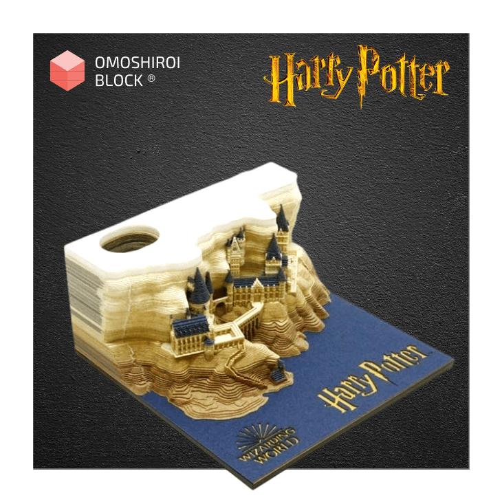 Hogwart Castle Harry Potter Omoshiroi Block