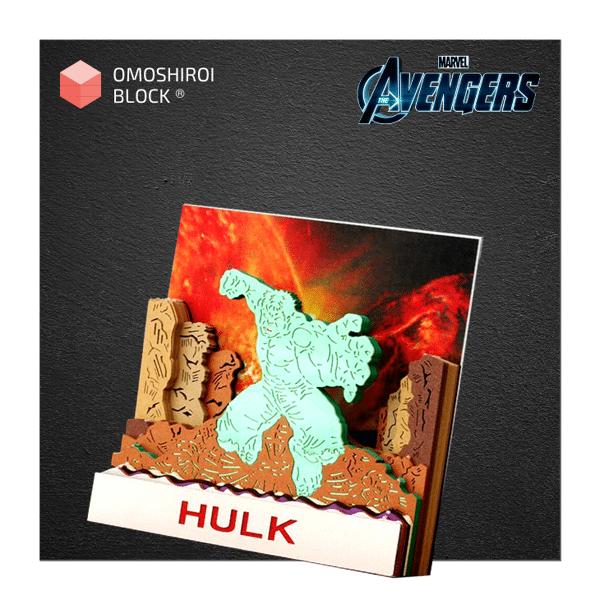 Avenger Incredible Hulk Omoshiroi Block