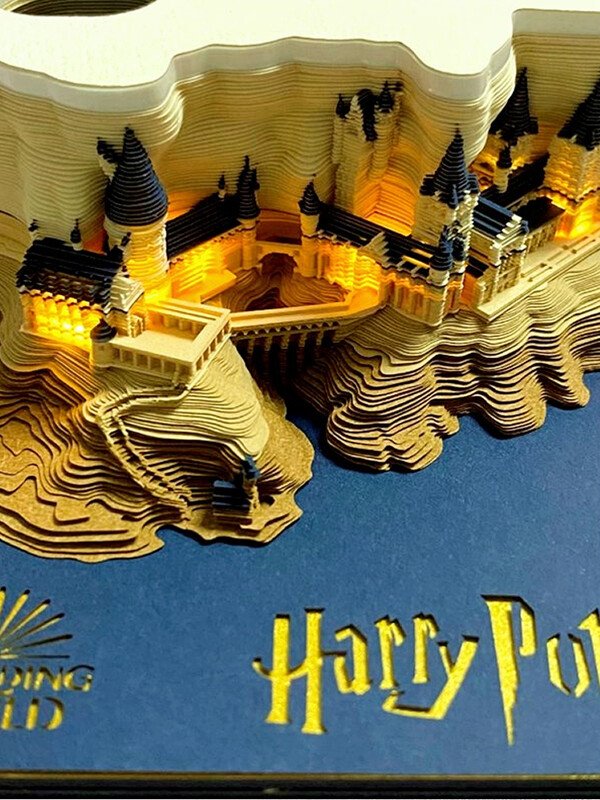 Harry Potter Hogwarts Castle Omoshiroi Block 4