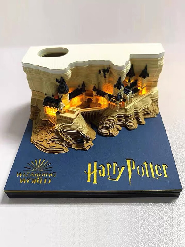 Harry Potter Hogwarts Castle Omoshiroi Block 6