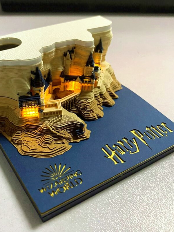 Harry Potter Hogwarts Castle Omoshiroi Block 7
