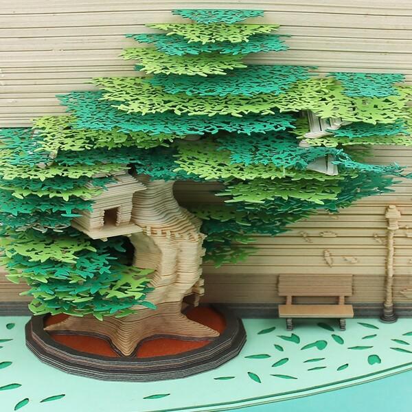 Tree House Omoshiroi Block 7