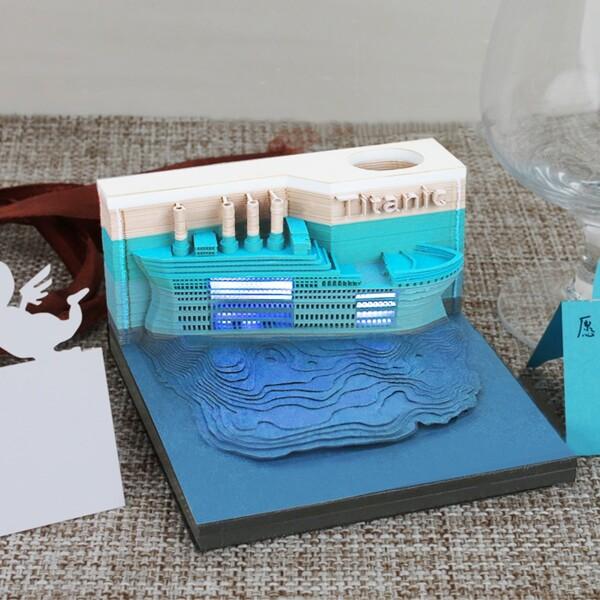 Titanic Omoshiroi Block Shape