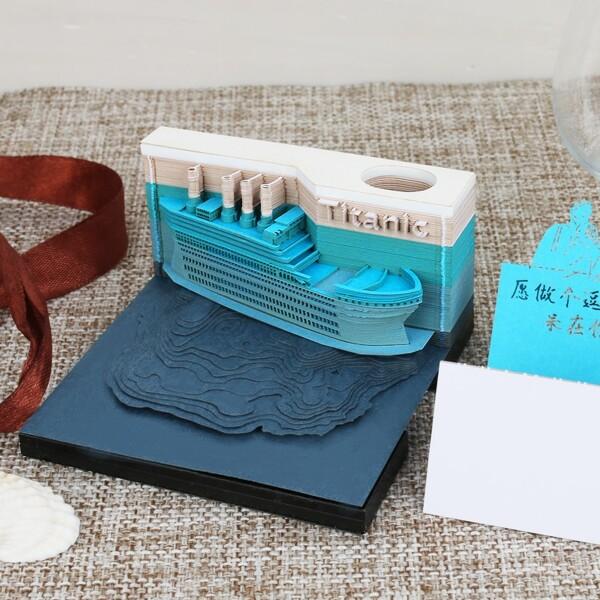 Titanic Omoshiroi Block 6