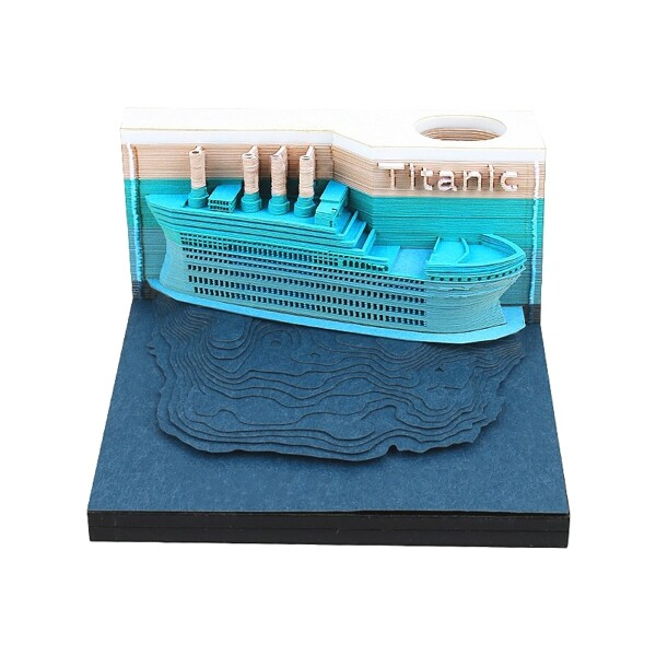 Titanic Omoshiroi Block 1