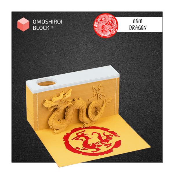 Asia Dragon Omoshiroi Block